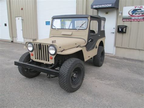 1951 willys jeep value 1951 jeep willys cj3a