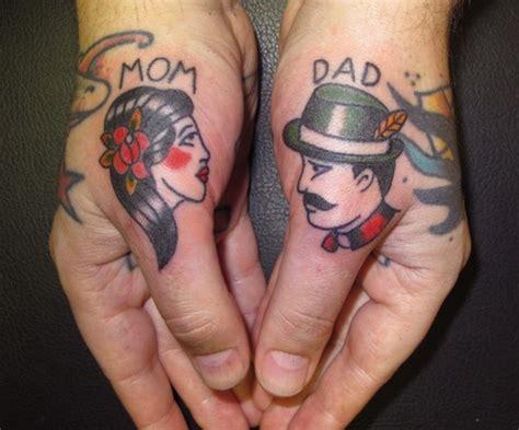 tattoo finger mom mom dad thumbs tattoo best tattoo ideas designs