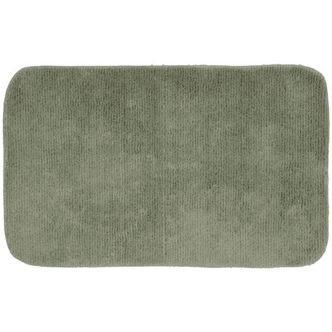 accent rugs for bathroom garland rug essence sea foam 24 in x 40 in washable