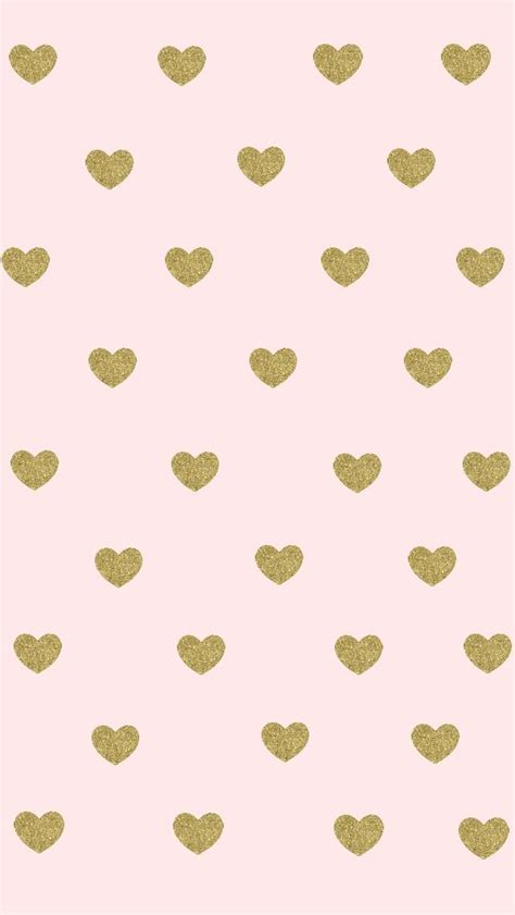 heart pattern gold best 25 pink and gold wallpaper ideas on pinterest