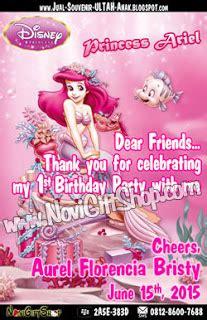 Kartu Ucapan Terima Kasih Thanks Card Minnie Mouse jual souvenir bingkisan hadiah kado ulang tahun anak