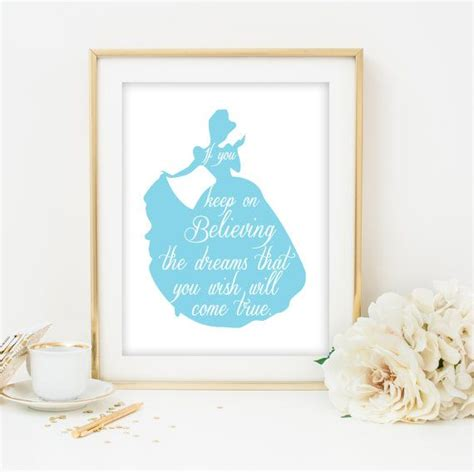 free printable princess wall art disney princess nursery wall art cinderella printable