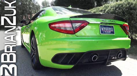 maserati green green maserati granturismo mc
