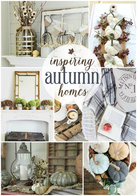 happy home decor inspiring autumn home decor ideas work it wednesday