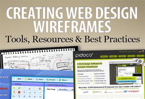 web layout design best practices creating web design wireframes tools resources and best