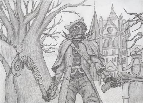 draw painting bloodborne drawing by drswisscheesy on deviantart