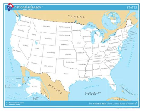 united states map with state names usa state maps interactive state maps of usa state maps