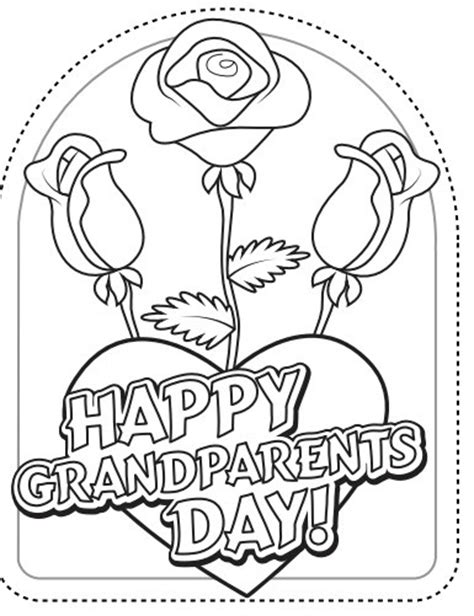 grandparents day card template 4 best images of grandparents day printables