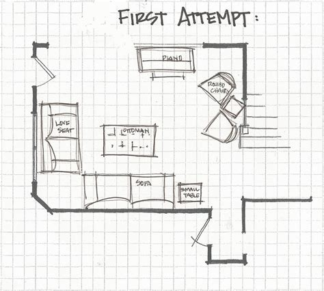 Living Room Floor Plans Remodelaholic Living Room Part 3 Experimenting With Furniture Layouts