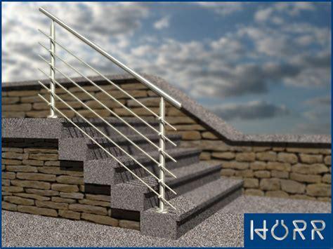 treppe handlauf aussenbereich gel 228 nder edelstahl treppengel 228 nder treppe 145cm au 223 en ebay