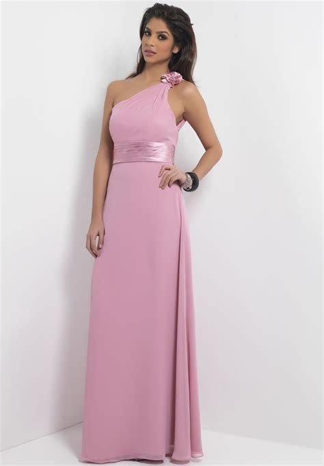 Bridesmaids Dressers by One Shoulder Bridesmaid Dresses For Fashion Weddings Stylish Dress