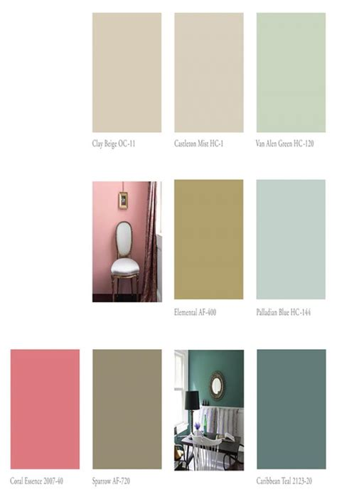 benjamin 2014 paint colors