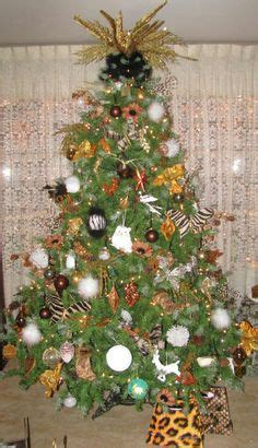 safari themed christmas tree on pinterest themed
