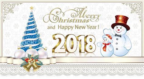 happy new year 2018 printable merry christmas happy merry christmas and happy new year 2018 stock vector art