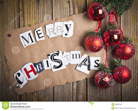 merry christmas letters stock photography image