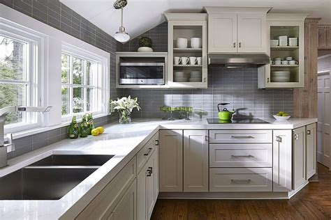 www kitchen ideas 50 gorgeous gray kitchens that usher in trendy refinement