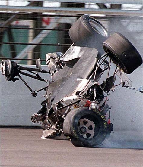indy car crash dan drinan crashes at the 1996 indy 500 happens be safe indy car drivers