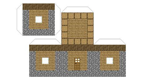 Paper Craft House - papercraft npc house