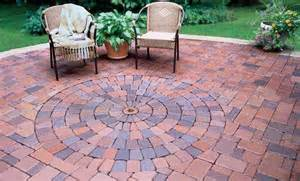 home depot patio blocks patio pavers circular pattern the home depot community