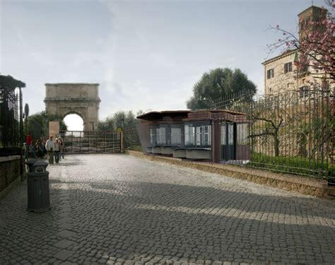 fori romani ingresso foto apertura nuovo ingresso foro romano partono i lavori