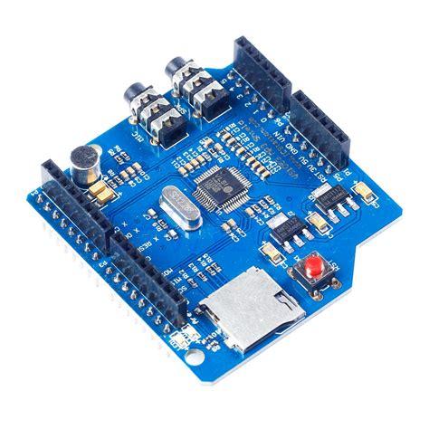 Arduino Vs1053 Mp3 Recording Module Onboard Recording Function icsh036a arduino vs1053 mp3 module 800ma spi interface expansion board ws ebay