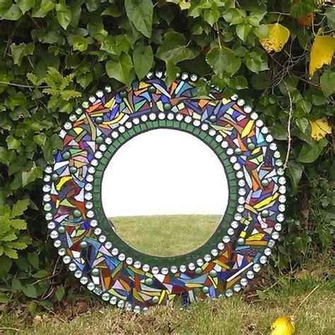 Garden Mosaic Mirror Folksy Craft Ideas Pinterest Garden Mosaic Ideas