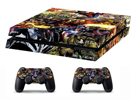Ps4 Skin Punisher By Stiker Onlen ps4 vinyl skin stickers marvel heroes style for console
