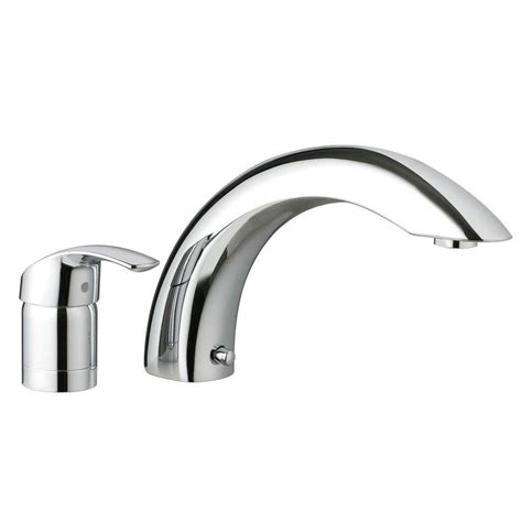 One Tub Faucet Grohe Smart Single Handle 2 Deck Mount Tub