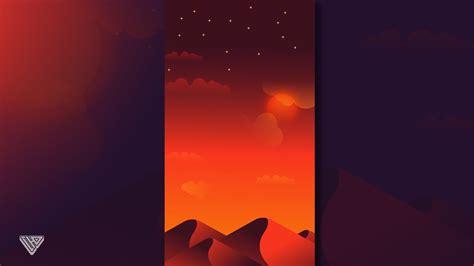 tutorial simple vector illustrator lanscape desert vector tutorial adobe illustrator youtube