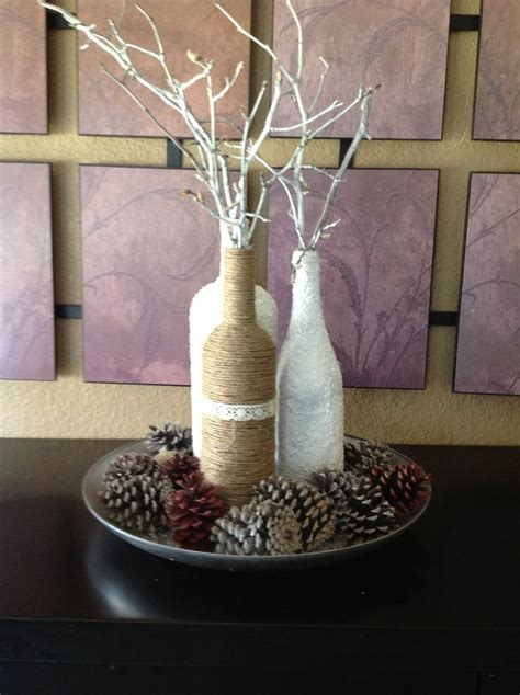 wine bottle centerpieces wine bottle centerpieces holidays