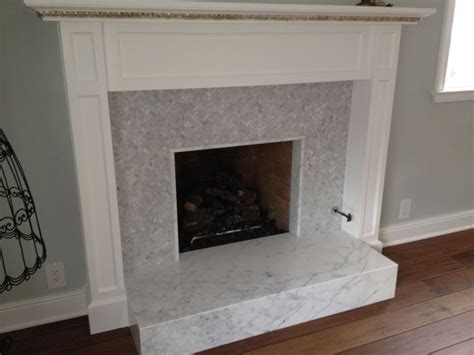 Marble Hearths For Fireplaces by 17 Best Images About Herringbone Hearth On