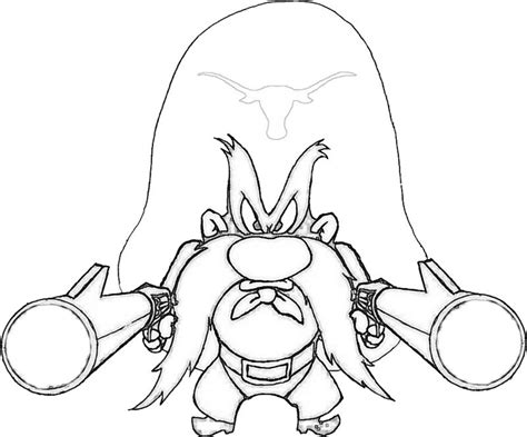 yosemite sam coloring pages 187 coloring pages kids