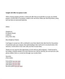 Offer Letter Format For Accountant Pdf Sample Offer Letter 7 Examples In Word Pdf