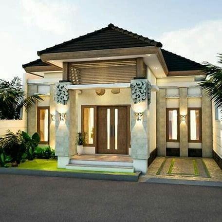 model rumah cantik sederhana lingkungan daerah jakarta rumah inspirasi informasi sederhana