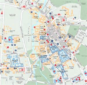 Cambridge England Map by Maps Of Cambridge