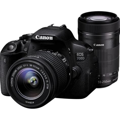 Lensa Untuk Canon 700d canon eos 700d 18 mp lensa kit 18 55mm is stm hitam grab it fast elevenia