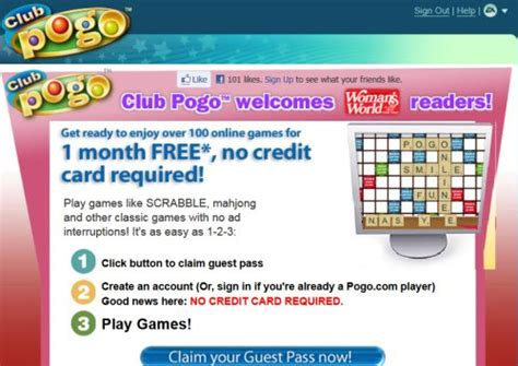 club pogo offer free membership play