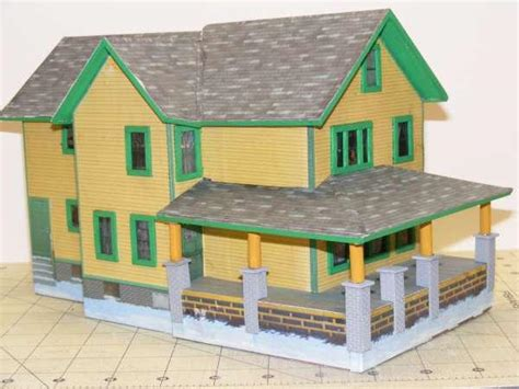 Make A House Out Of Paper - a story paper house o railroading on