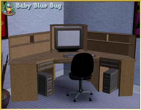 Corner Desk Office Max Babybluebug S Bbb Office Max Deluxe Corner Desk With Hutch