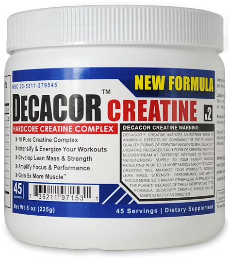 creatine negatives decacor creatine complex intensify and energize your