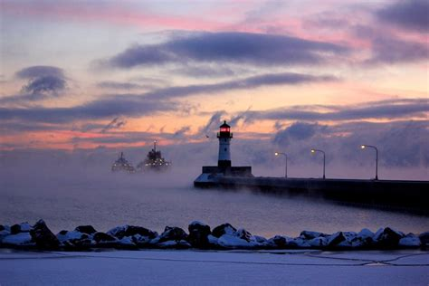 duluth sea smoke photos patience and persistence pay off for duluth