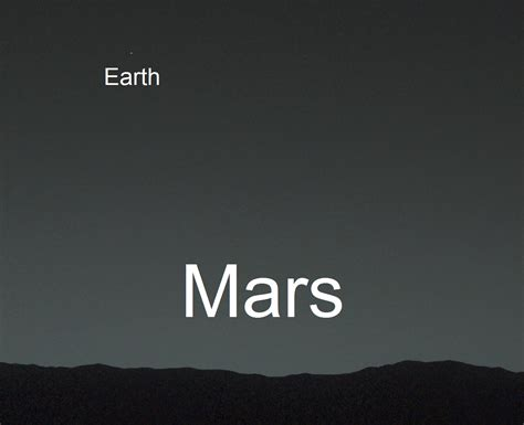 From Mars earth from mars mars from earth earth