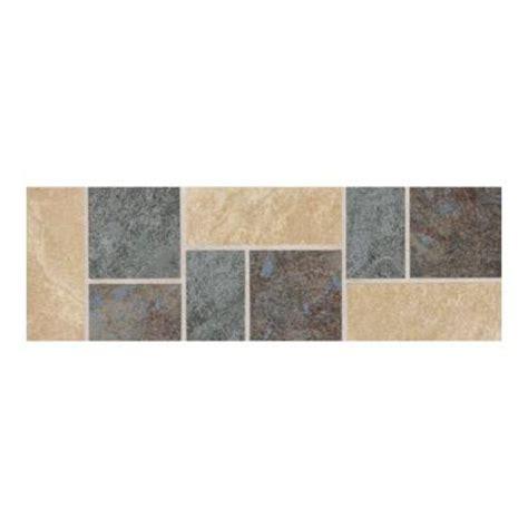 Multi Colored Tile Floor by Daltile Continental Slate Multi Colored 4 In X 12 In