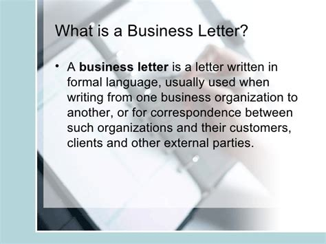 What Is A Business Letter And What Are Its Types Explain Each the business and informal letter copy