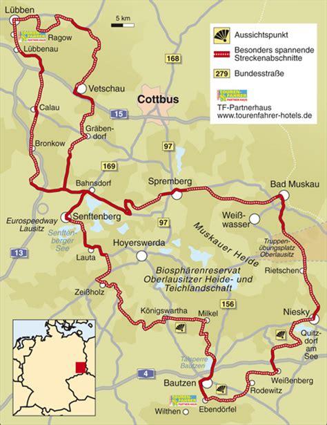 Motorrad Online Karte by Traumstra 223 En Lausitz Info Karte Tourenfahrer Online