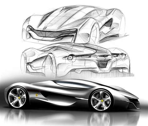ferrari laferrari sketch what makes a good sketch and what are they for