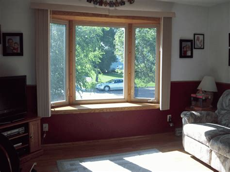 bay window window treatments modern window treatments for bay windows home intuitive