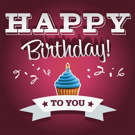 happy birthday to you design happy birthday to you card vector free vector graphic