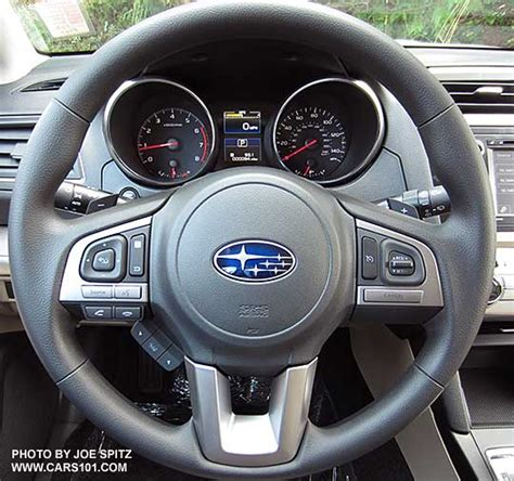 subaru steering wheel 2015 outback interior photographs and images