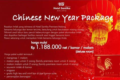 new year promotion hotel malang merdeka hotel santika bagi bagi angpao